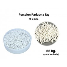 Porselen Parlatma Taşı  Ø  6 mm