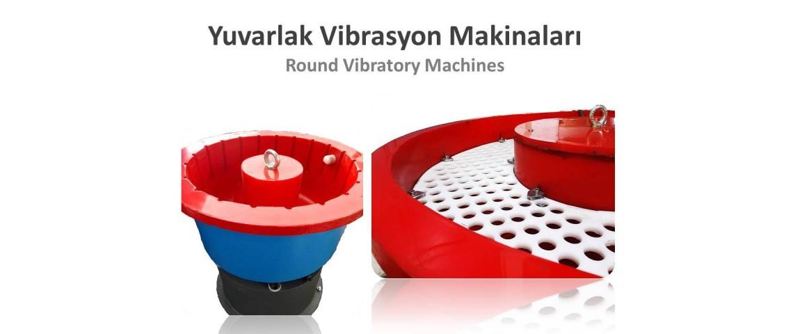Vibrasyon Çapak Alma Makinaları