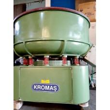 Vibrasyon Çapak Alma Makinası Eleksiz 500 litre