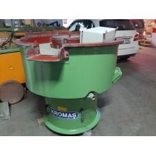 Vibrasyon Çapak Alma Makinası 220 litre Elekli