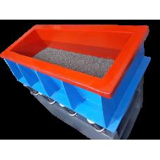 Tekne Tip Vibrasyon Makinası   Çelik Bilya İşlemi